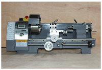 750W400mm Machining Length Small Lathe Multi function Home Woodworking Turning Metal Machine DIY Machine Tool