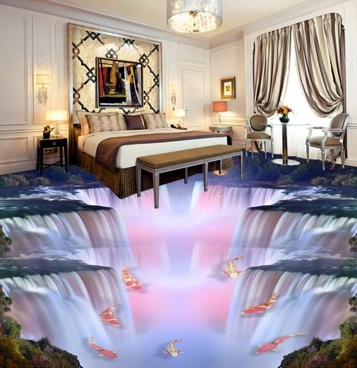 Beautiful Goth Bedrooms With Wood Floor: Custoln 3d Behang European Wallpaper 3d Flooring Beautiful