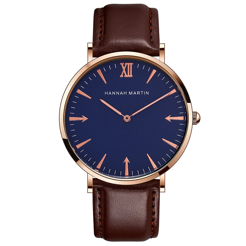 Ladies Mens Watches Simple Waterproof Wrist Watch For Women Rose Gold Quartz Clock Dropshipping Montre Femme Marque De Luxe 2019