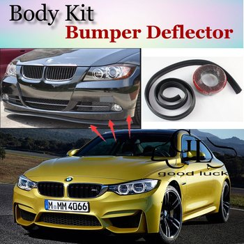 For BMW 4 Series M4 F32 F33 F36 2013~2015 Bumper Lip Lips / Top Gear Shop Spoiler For Car Tuning / TOPGEAR Show Body Kit + Strip image