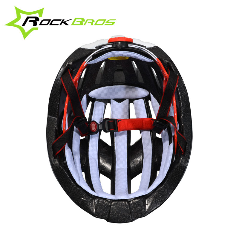 ROCKBROS Electric Rainbow Lights Cycling Helmet with LED Safety Lights Casco Ciclismo Prevail Bicycle Bike Sports In Mold Helmet