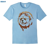 GILDAN 100% Cotone O-Neck T-Shirt stampata Chow Chow Dog T Shirt Amo Chow Chow