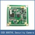 Panasonic ccd color junta ntsc ccd 800tvl cámara pcb placa de circuito de seguridad, con auto iris IRIS (personalizado), con la función de OSD