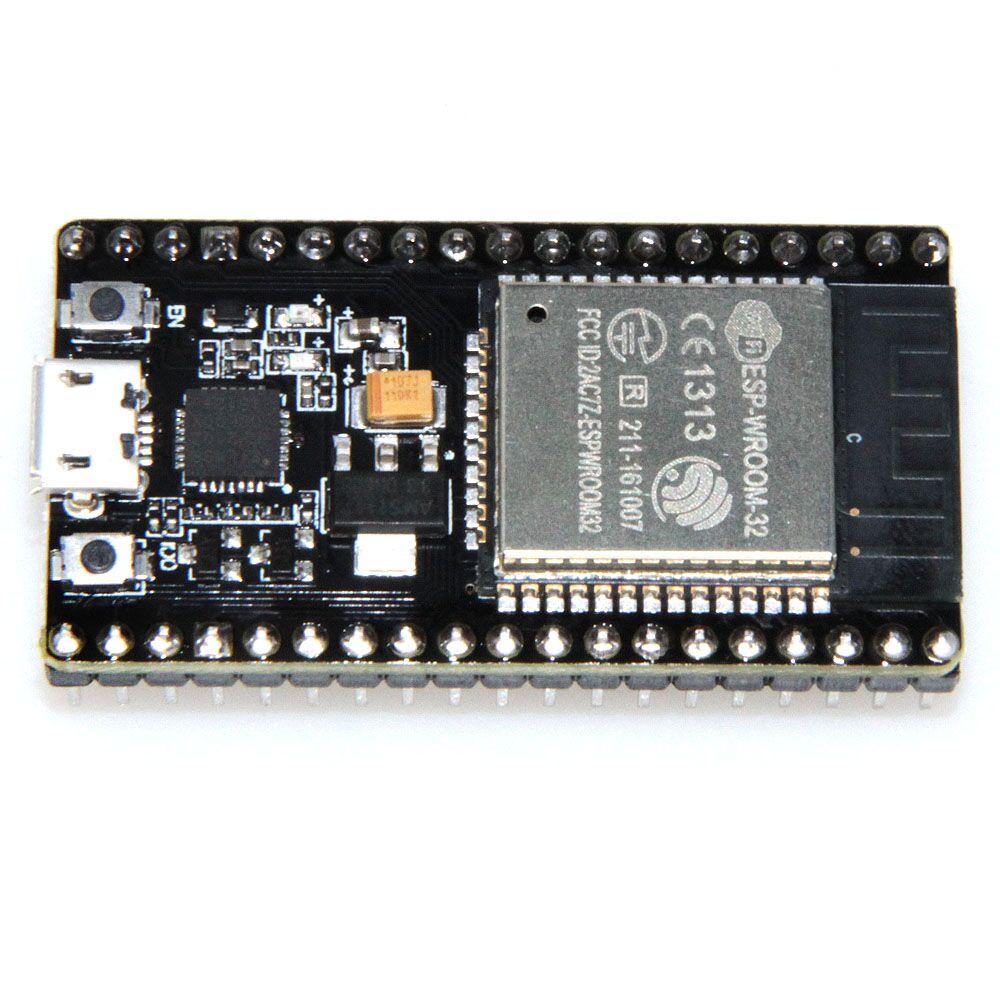 ESP32 (ESP-WROOM-32) Rev1 Development Board WiFi+Bluetooth Ultra-Low Power Consumption Dual Cores ESP-32S Board
