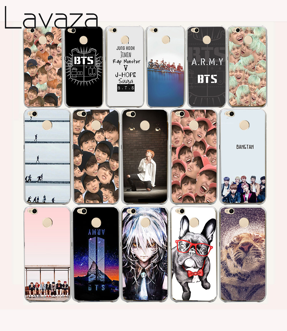 Lavaza 17O Bangtan BTS Boys Hard Case for Xiaomi Redmi 4X 4 4A pro prime cover