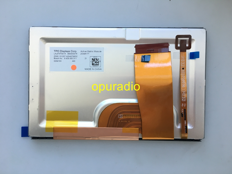 Free shipping Brand new Opuradio 7Inch LCD diplay LAJ070T001A screen for Volvo S60 S80 XC90 car