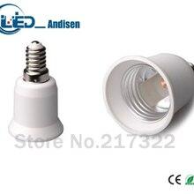 E12 для E26 адаптер переходник для розетки высокое качество Материал огнестойкий материал e26 гнездо адаптера держатель лампы