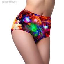 5b7f6829ba93 Galaxy Print Panties Seamless High Waist Panty Body Shaper Underwear Women  Briefs Pants 3D Underpants Sexy