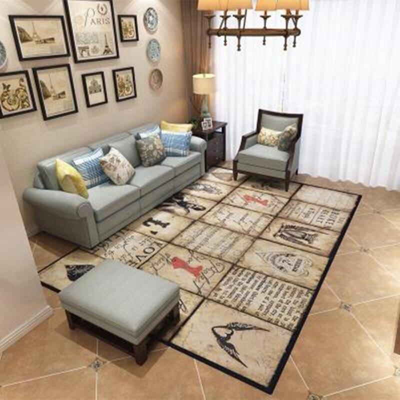 200*300cm Modern Style Soft Carpets For Living Room large Area Rug Home Bedroom Floor Mat Carpet kids room Decor Big size Rugs