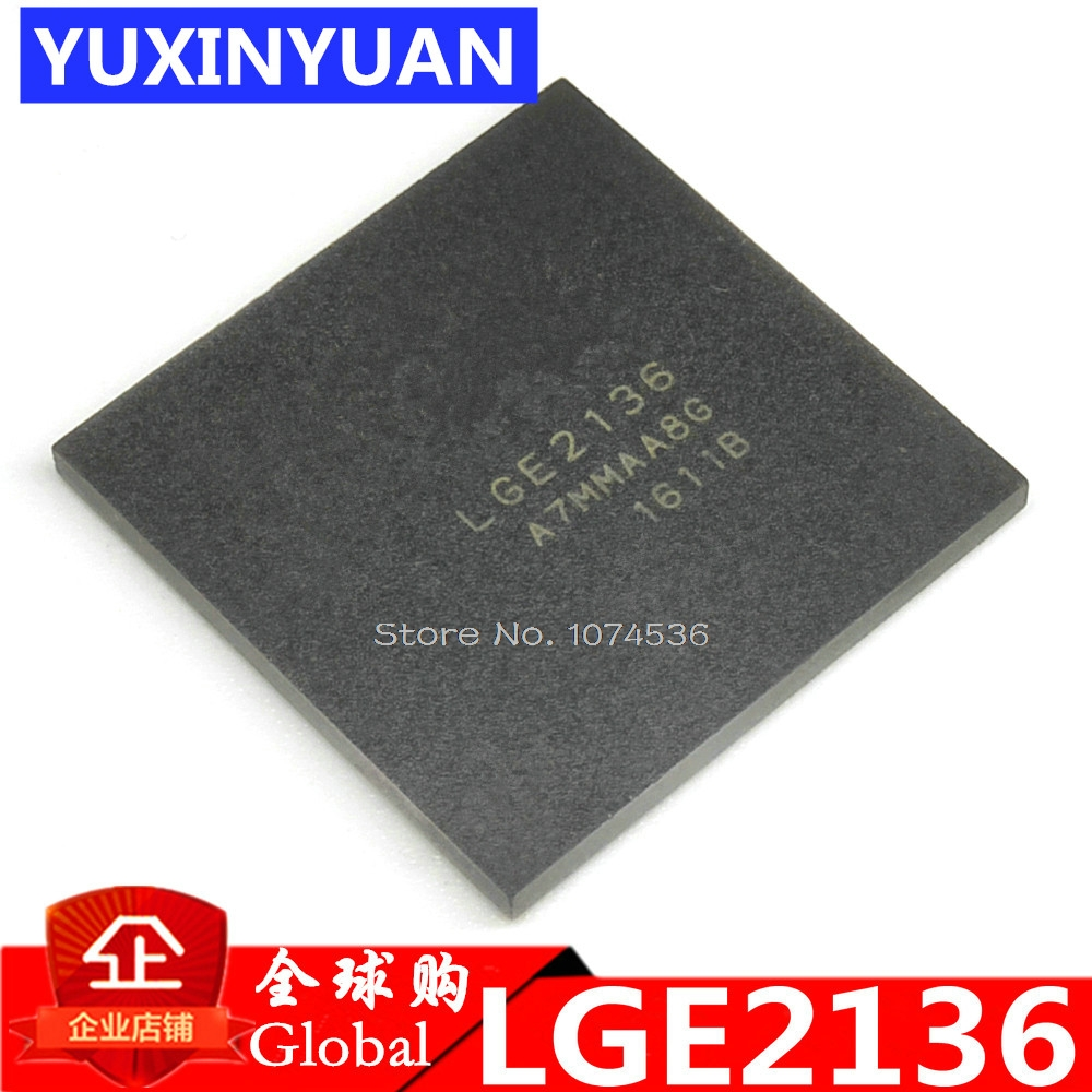 LGE2136 LG2136 E2136 BGA  New Original Authentic Integrated Circuit IC LCD Chip  Electronic 1PCS