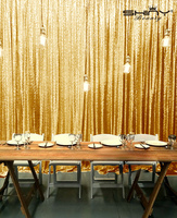 Shinybeauty 210 215cm Gold Sequin Backdrop 7x7ft Sparkly Bling Photo Backdrop For Videos Party Wedding Pictures