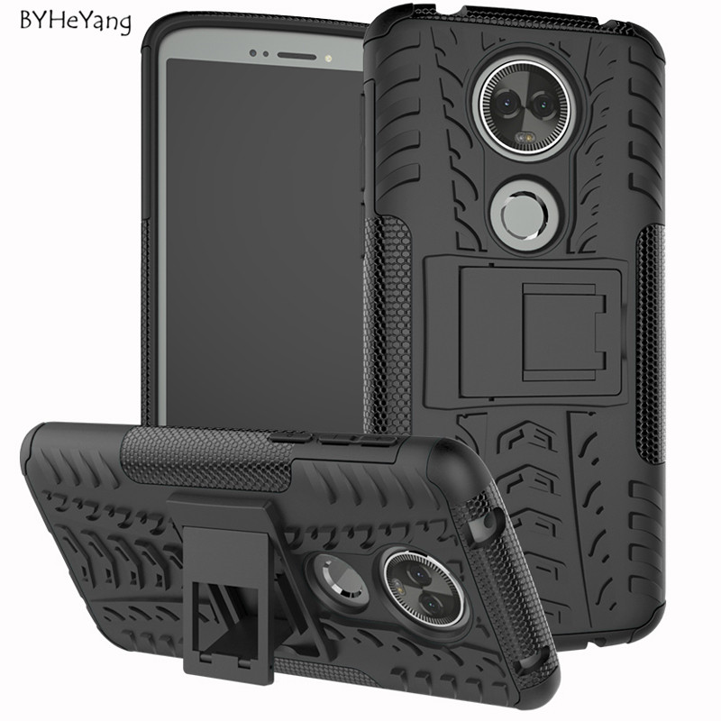 BYHeYang For Motorola Moto E5 Plus Case Heavy Duty Armor Rubber Silicon Hard Phone Case For Motorola Moto E5 Plus XT1922 Fundas