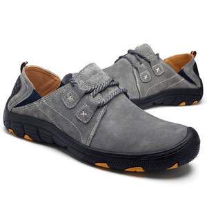 Image 3 - Mynde חדש אמיתי עור נעליים יומיומיות גברים ופרס זמש גברים נעליים לנשימה חיצוני אימון נעלי הליכה Zapatos סניקרס