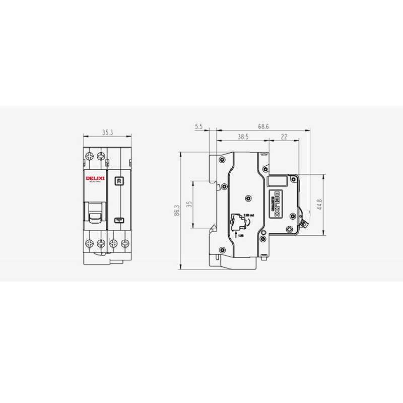 miniature circuit breaker 32a 3pole 6ka