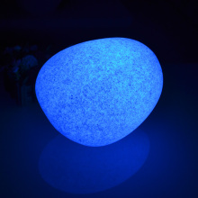 LED Marble Stone Table Lamp illuminouse Cobble Light for Home Decoration free shipping drop 1pc