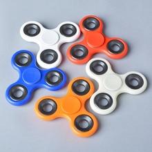 Tri-Spinner Finger Spinner Figet Spinner 3D Printing plastic Toy EDC Sensory Fidget Spinner For Autism ADHD Kids Adult