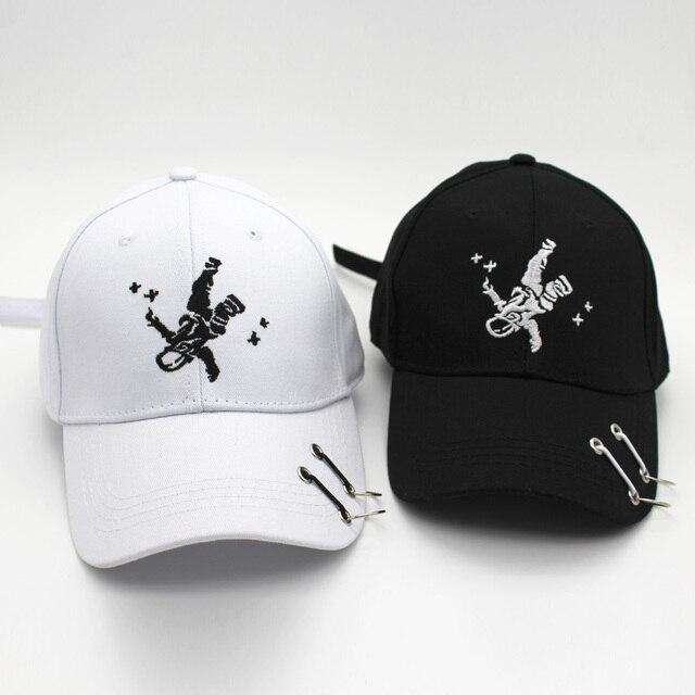 f054a5fb068e2 Nueva Marca gorra de béisbol con anillo mujeres hombres SnapBack casquette gorras  de sombrero sombreros de