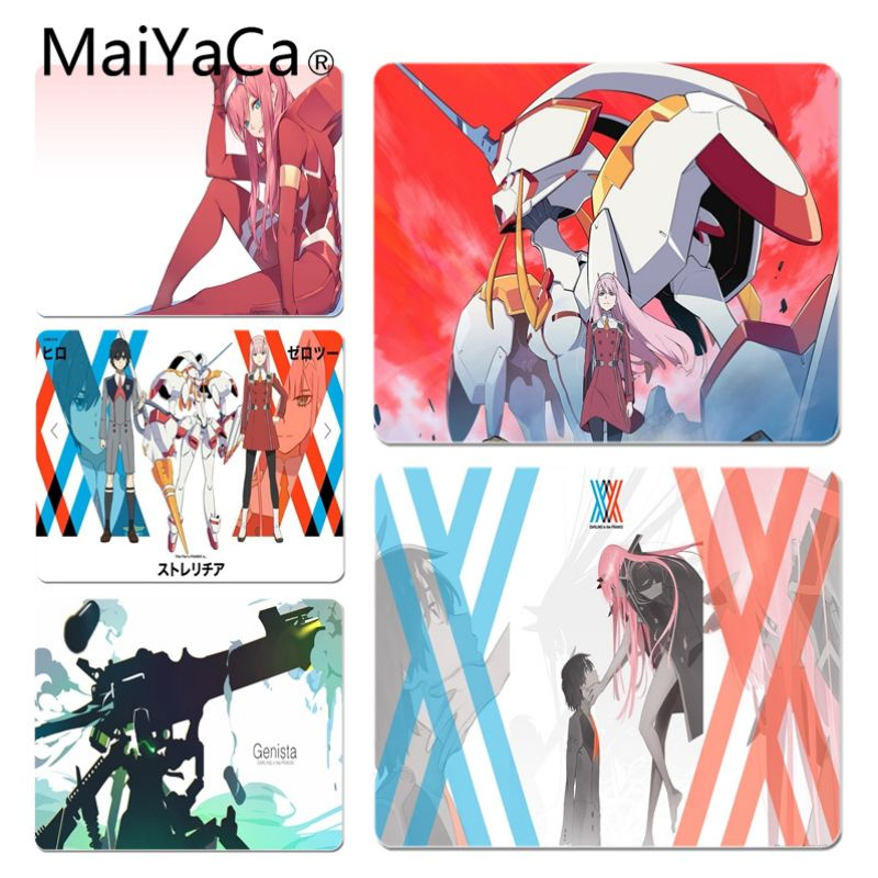 MaiYaCa Simple Design Darling in the FranXX Ichigo Comfort Mouse Mat Gaming Mousepad Size for 180*220 200*250 250*290 Mouse Pad