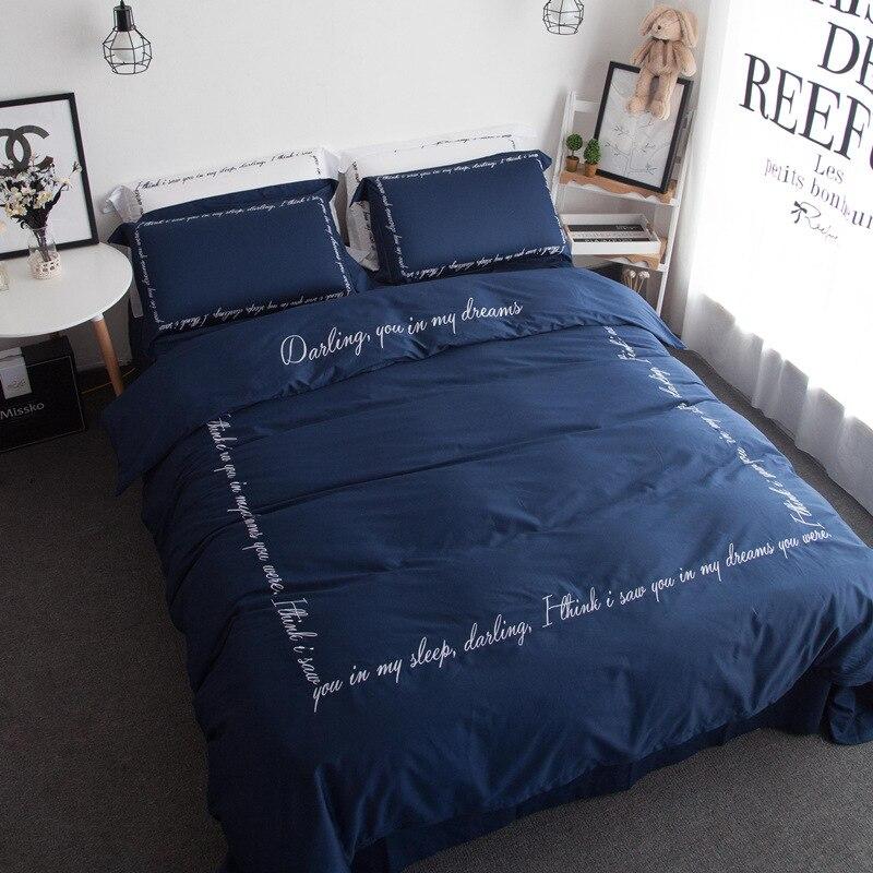60s Egyptian Cotton Luxury Bedding Set Cute Girl Princess Brief Queen King Size Solid Bed Linen Flat Bedsheet Duvet Cover Sets Duvet Cover Set Bedding Setluxury Bedding Set Aliexpress