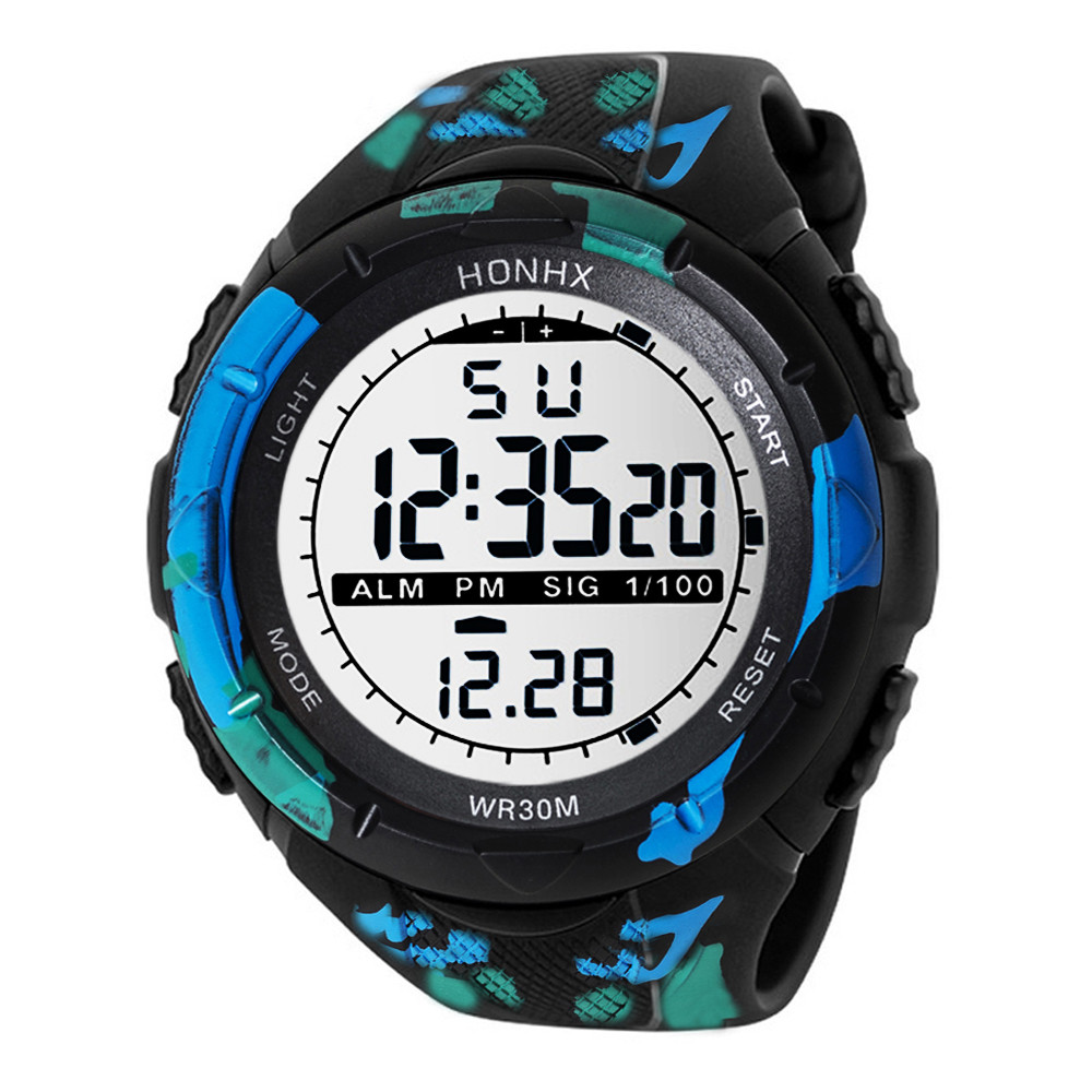 Fashion Outdoor Sport Watch Men Multifunction Watches Alarm Clock Hot sales Waterproof Digital Watch reloj hombre CC