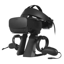 2019 Nieuwe Top Rusland VR Headset Rack Display Houder Stand voor Oculus Rift S/Oculus Quest VR Headset en touch Controllers(China)