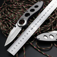 New Browning Folding Knife Titanium Coating Blade Steel Handle Pocket Camping Survival Knives Hunting Tactical Knife Outdoor F47