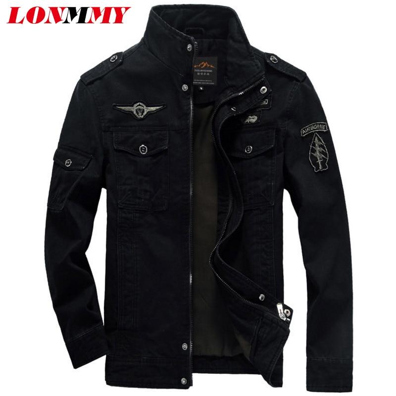 LONMMY M-6XL पुरुषों के बमवर्षक - पुरुषों के कपड़े