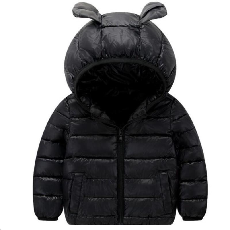 Зимние куртки для девочек Обувь для мальчиков мультфильм Стиль для девочек модная верхняя одежда для маленьких девочек куртка с капюшоном ...