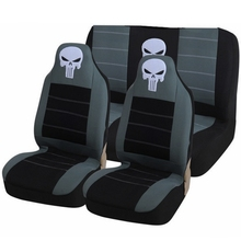 LUNASBORE Automobiles Full Car Seat Cover Universal Accessories Protector Embroidery