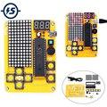 Электронная машина для компьютерных игр MCU DIY  электронная змея для Tetris/Snake/Plane/RacingDot Matrix Game Kit