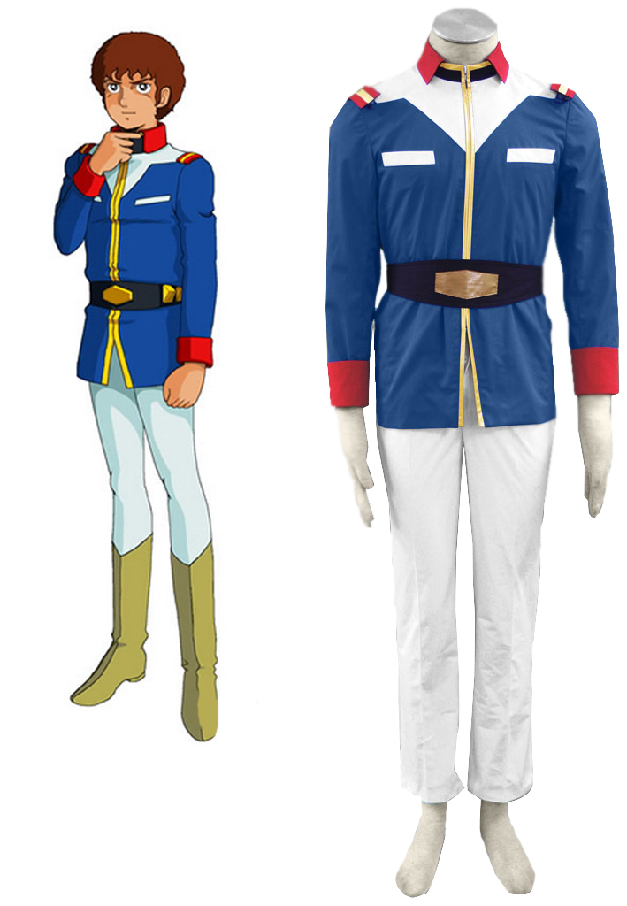 Free Shipping Gundam 0079 Union  Soldiers Uniform Anime Cosplay Costume