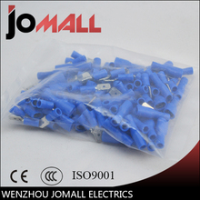цены 1000pcs Female with Male Spade Insulated Electrical Crimp Terminal Connectors H1E1 Cable Terminals
