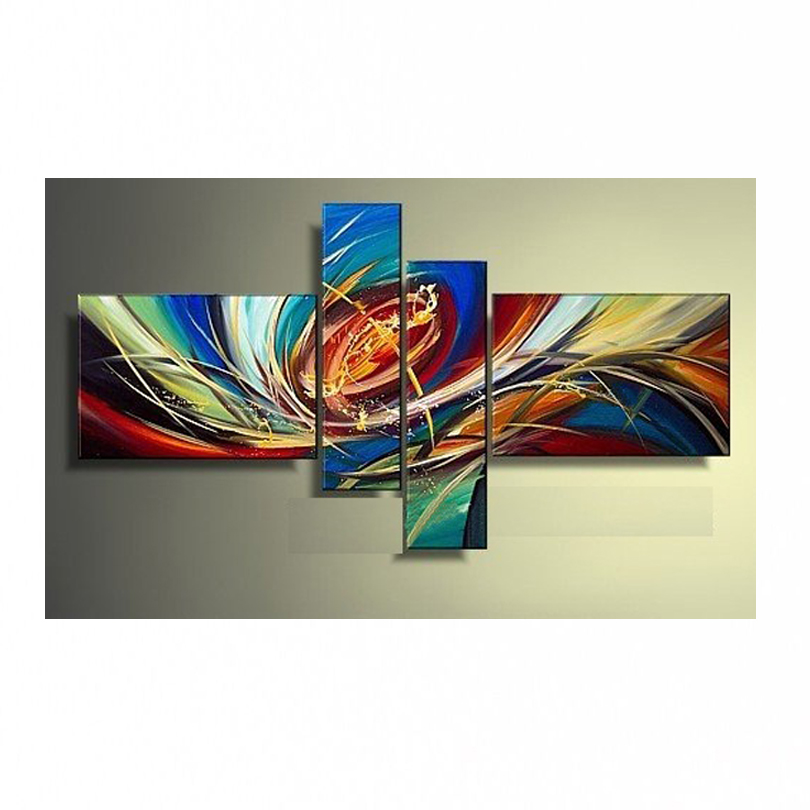 NUEVA pintura al óleo 100% pintada a mano Decoración del hogar - Decoración del hogar - foto 5