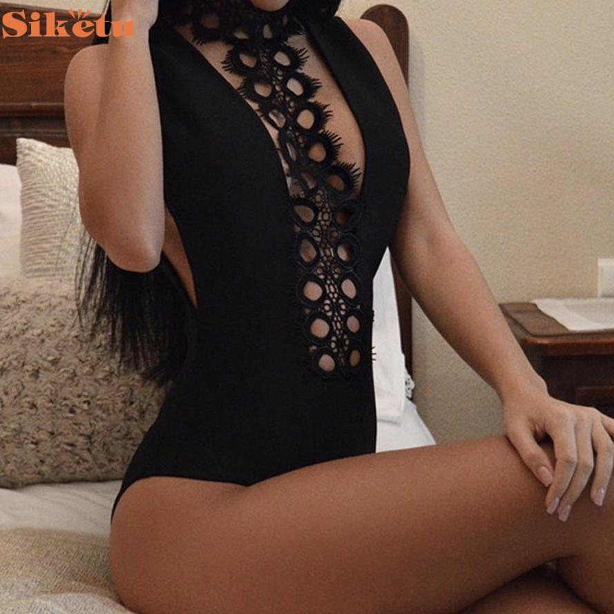 9ee2f6581d05d 2017 Sexy Neck Wrap Around One Piece Swimsuit Swimwear Women Bathing Suit  Bodysuit Bather Decc30-in Body Suits from Sports & Entertainment on  Aliexpress.com ...