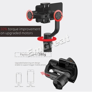 Image 5 - Hohem iSteady Mobile Plus 3 Axis Handheld Smartphone Gimbal Stabilizer for iPhone 11 Pro Max XS XR X Samsung S10 S9 Huawei Gopro