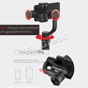 Image 5 - Hohem iSteady נייד בתוספת Smartphone Gimbal 3 ציר כף יד מייצב עבור iPhone 11 פרו מקס XS XR X 8 בתוספת Samsung S10 + S10 S9 +