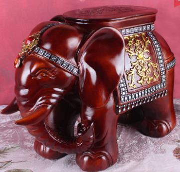 Elephant shape ottoman sofa stool footstool Antique footrest home furniture Valentine's day,birthday crafts desktop decoration hot white elephant shape ottoman sofa stool footstool antique footrest home furniture big size lucky crafts desktop decoration