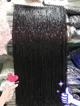 5.5 Yards 50cm Wide Lace Fringe Trim Tassel Trimming For DIY Latin Dress Stage Clothes Accessories Ribbon