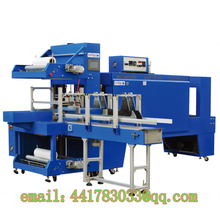 ST6040A + BSE6040A Automatic Sleeve Type Sealing and Shrink Automatic Assembling  Sleeve Sealer  film packaging machine