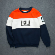 Top Version Color Blocking Men's Hip Hop Hoodie Palace Fleece Sweatshirt Sudaderas Hombre Skateboarder Streetwear Free Shipping