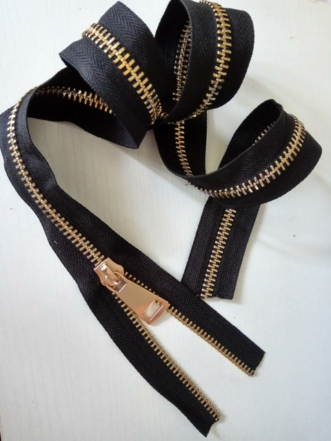 10# brass zippers for sewing bags luggage outdoor tent zipper repair high quality 500cm with : tent zipper - memphite.com