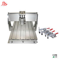 Aluminum frame CNC 3040 engraving machine table metal Ball Screw DIY wood milling router