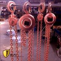 HSZ 0.5T3M non sparking Beryllium Copper chain hoist High Quality Non Spark BeCu Chain Hoist Of Chain Block