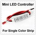 Wholesale 12V 144W Mini led controller Sinlge Color 3528 5050 Strip LED Dimmer,Smart led dimmer,DC12V input;12A*1channel output