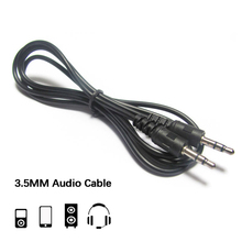 3.5mm Jack AUX Cable Headphone Audio Car Speaker Extension Cord for iPhone 5s 6s Samsung S8 Redmi Note5 Male to Male Audio Cable стоимость