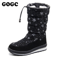 GOGC Russian Famous Brand 2016 Women Winter Boots High Quality Women S Winter Female Shoes Snow