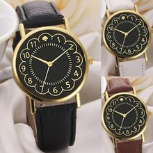 Relogio feminino 2018 hete verkoop Dames Girl Lide lederen band analoge quartz horloges Polshorloge van hoge kwaliteit lederen polshorloge