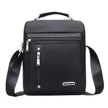Nylon Mens Handbag Casual Travel Fashion Men Crossbody Bag Bags Designers Brand Messenger 2019 Solid color