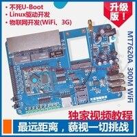Free Shipping WiFi Development Board WiFi Module Development Board MT7620A SDK Tutorial Openwrt WrtNode Send