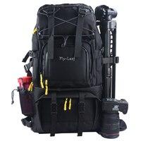 Large Capacity DSLR Camera Bag Waterproof Travel Camera Backpack Shockproof Professional Photography Bags for Camera Lens Flash